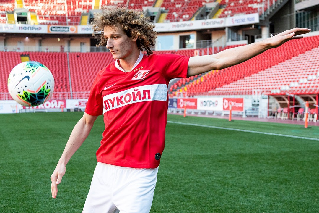 Kral featured for the Czech national side