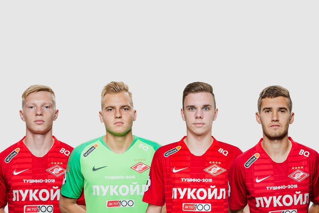 Maksimenko, Rasskazov, Glushenkov and Lomovitski called up to the Russian U21s national team