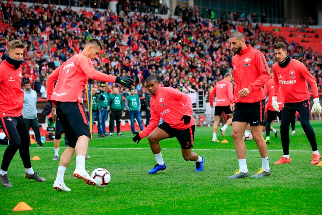 Spartak's Birthday celebration and an open training session ahead of Enisey