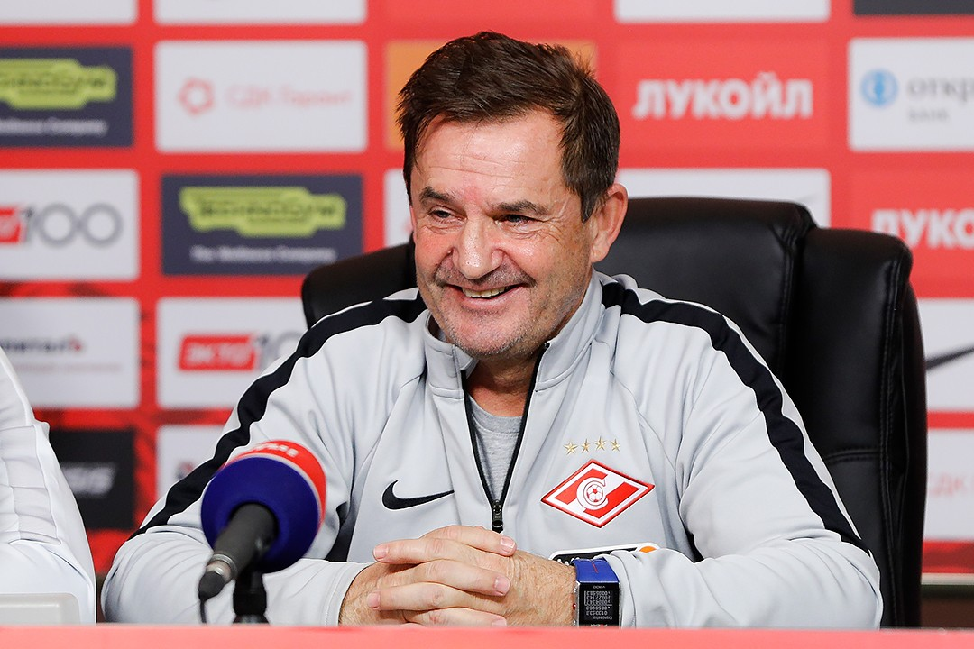 «Spartak will play the same formation and will just polish it» - Raul Riancho