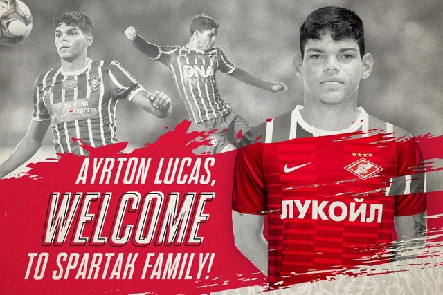 Welcome, Ayrton Lucas!