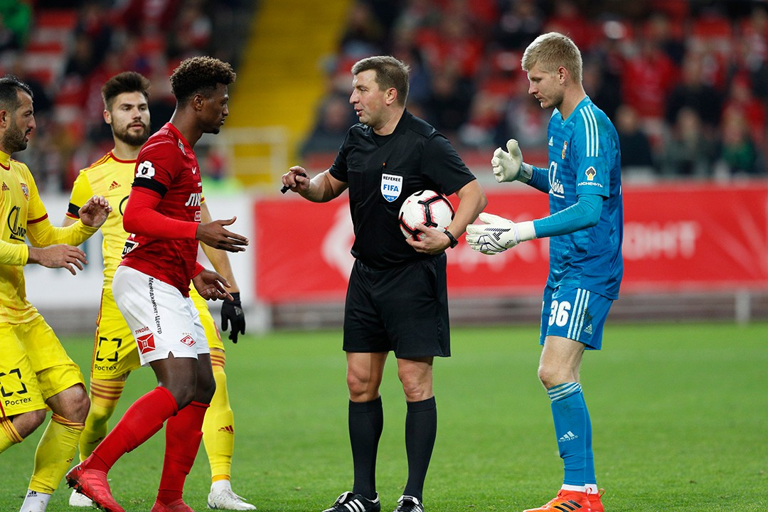 Mikhail Vilkov will officiate the game between Arsenal and Spartak