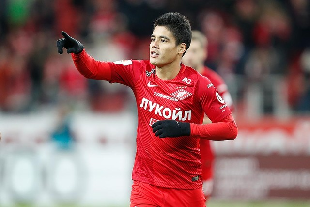 Lorenzo Melgarejo: 'I always believed that I would be successful in Spartak'