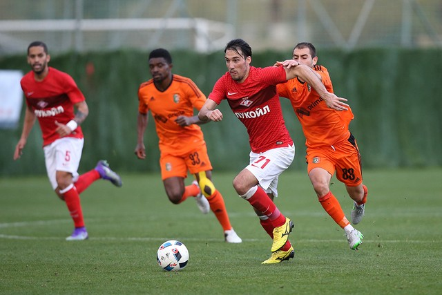 FC Spartak Moscow vs PFK Litex Lovech