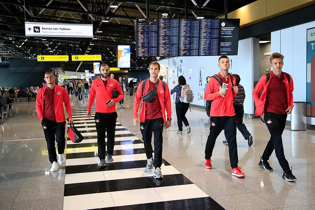 Spartak's squad has travelled to Samara