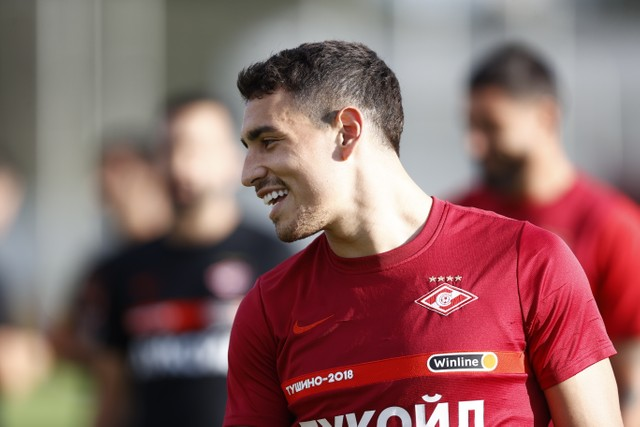 """Ezequiel Ponce: """"I had offers from other clubs but I have unfinished business at Spartak"""""""