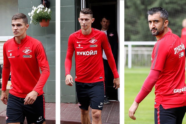 Samedov, Zobnin and Kutepov joined the squad