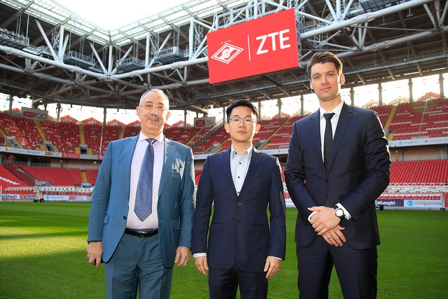 ZTE Is a New Spartak Partner