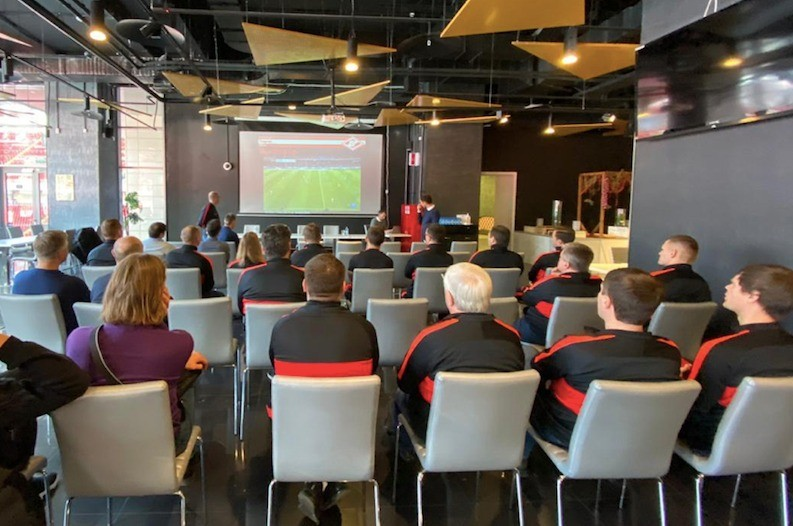 Tedesco's Seminar For Spartak Coaches