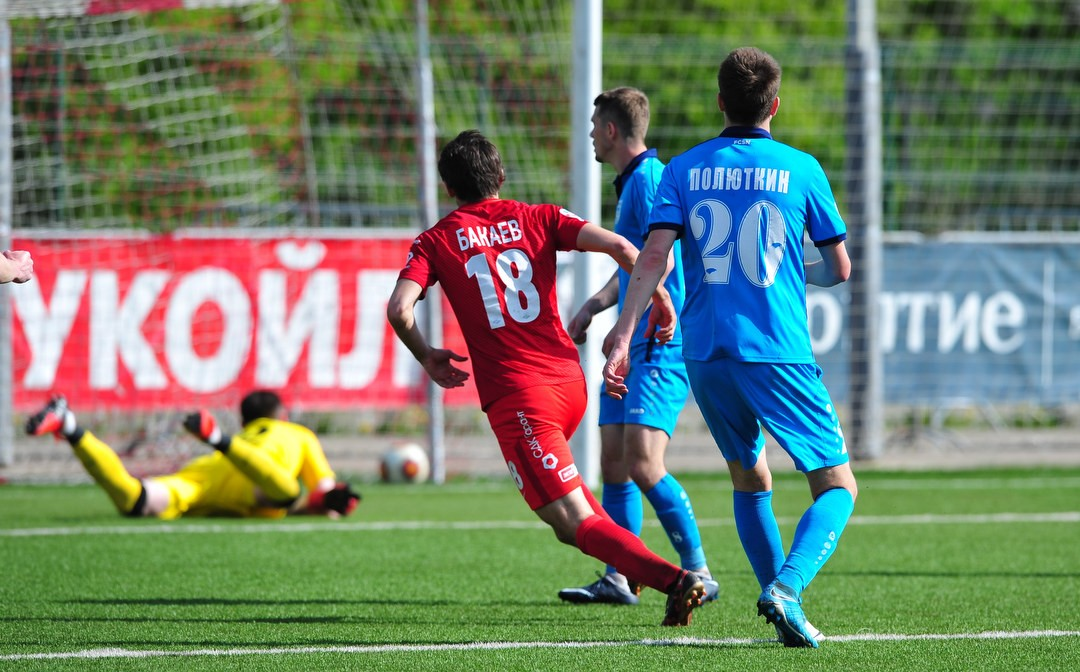 Spartak-2 won in the key game