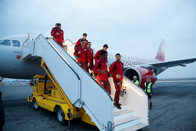 Spartak arrived to Krasnodar