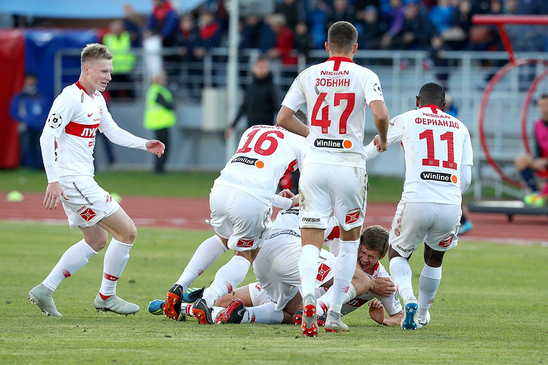 Enisey - Spartak: how it happened