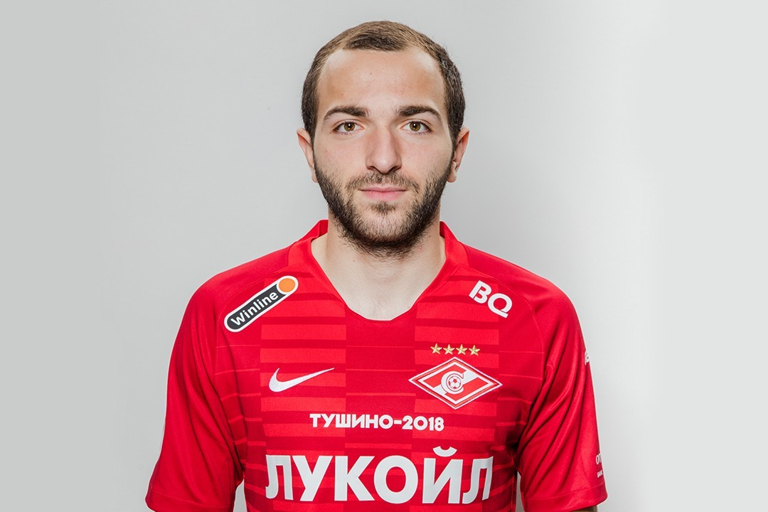 Georgy Melkadze agrees new contract terms with Spartak
