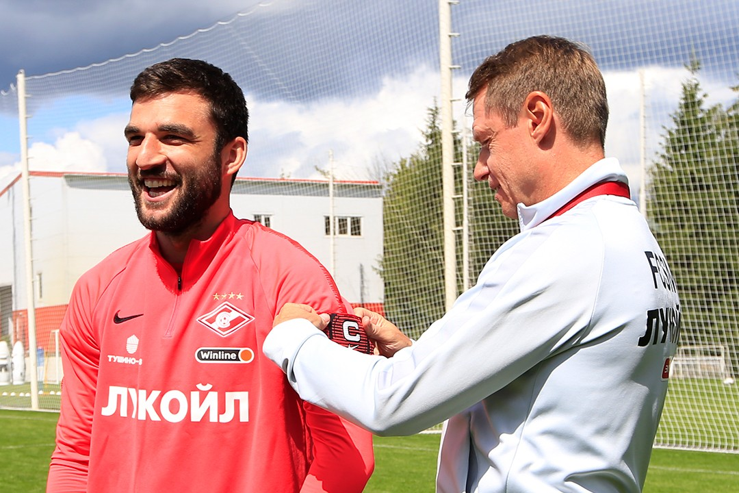 Georgy Dzhikia is our new captain