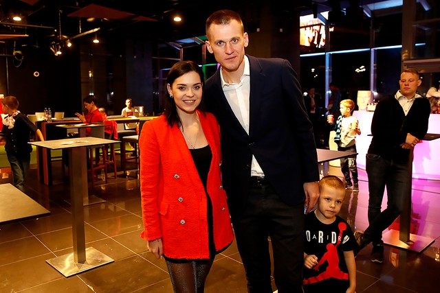 Artem Rebrov holds a charity event at the Otkritie Arena