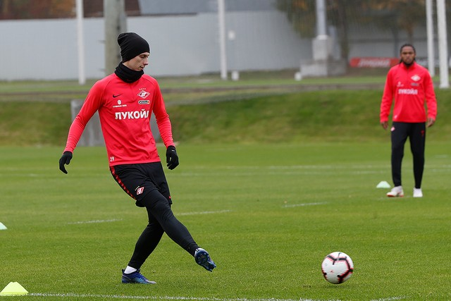 Kutepov is back to training with the main group