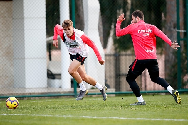 Final training session in Turkey