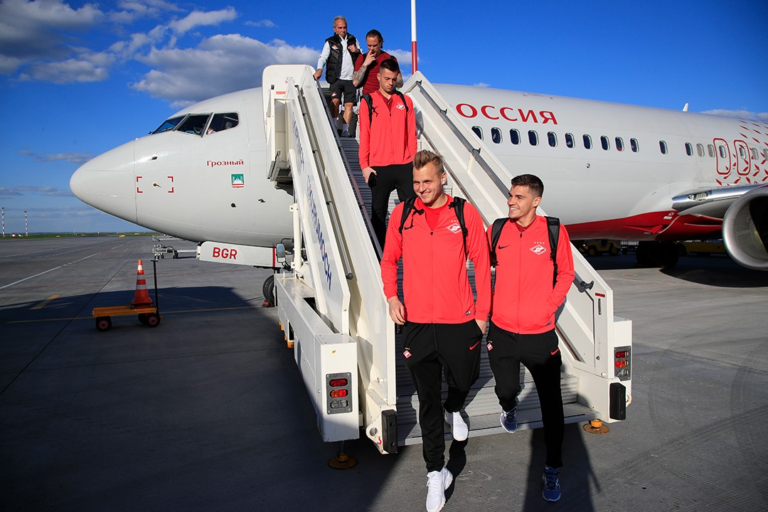 The team has arrived in Samara