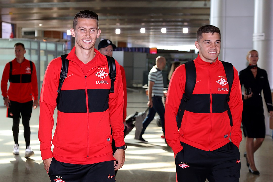 Spartak squad travels to Switzerland to face Thun
