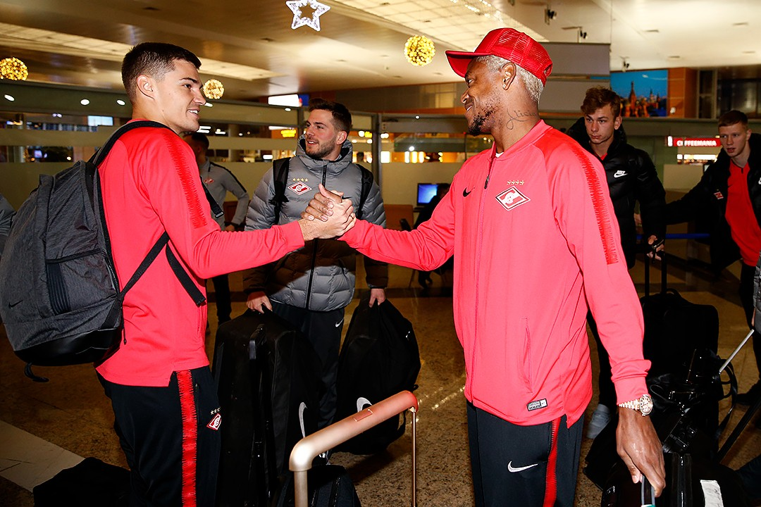 Spartak's squad has travelled to UAE