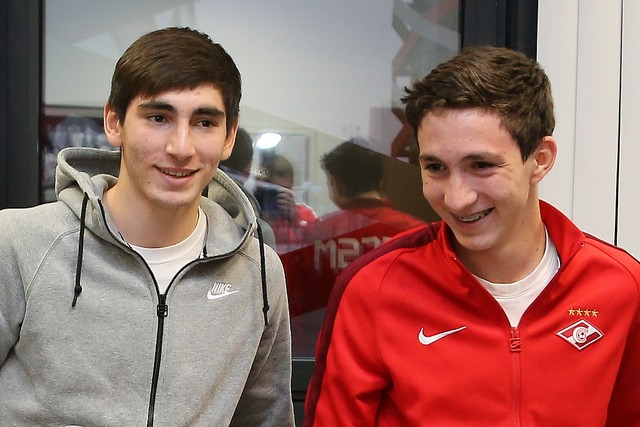 Bakaev brothers have prolonged their contracts with Spartak Moscow