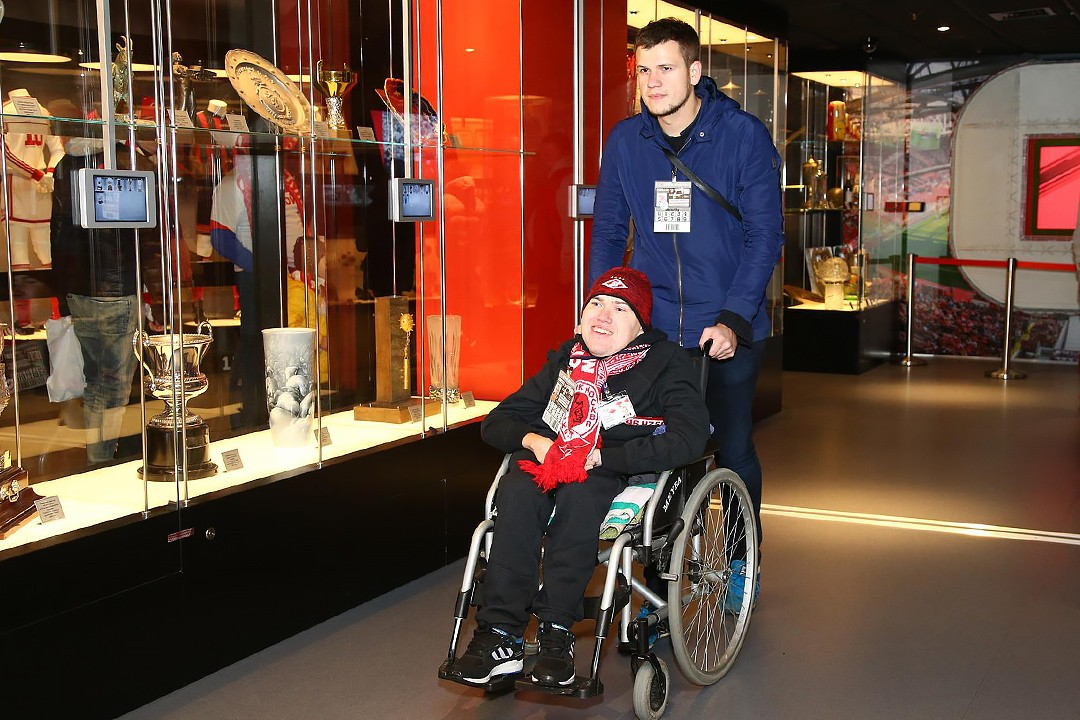 Spartak will take part in First Disability Access Officer Network Group at Camp Nou