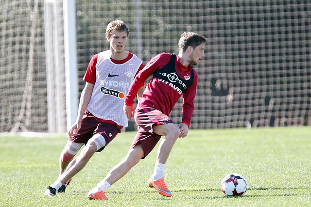 Jano had a training session in the general group