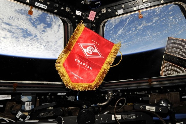 A Look at Spartak's Special Relationship with Russian Cosmonautics